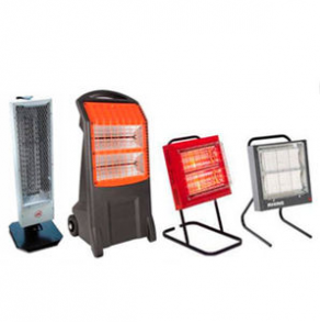 Radiant heater / electrical / mobile