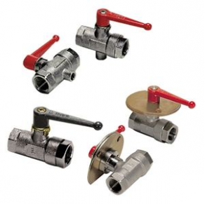 Ball valve / brass - max 40 bar, 4 Mpa, 580 psi