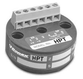 Pt100 temperature transmitter - 20 - 500 °C | HPT Conax