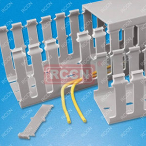 Cable trunking / PVC / grooved - max. 200 x 150 mm, -40 ... 65 °C | VDRF series