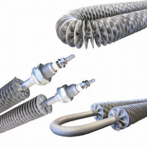 Finned heating element - Finned tubular heaters