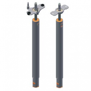 Telescopic spindle for workstation height adjustment / electric / synchronized - max. 900 N, 40 mm/s | Model 4115.14
