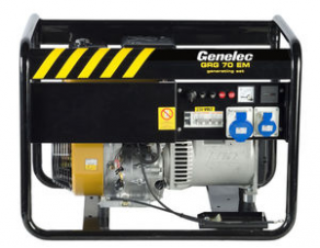 Not specified generator set / fuel / portable - 5.6 kVA, 400 V, 50 Hz | GRG-70 EM