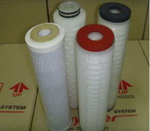 Diaphragm filter cartridge / for liquids - 7.6 l/min