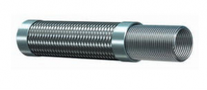 Stainless steel-braided hose - -270 °C ... +700 °C | 99DMM