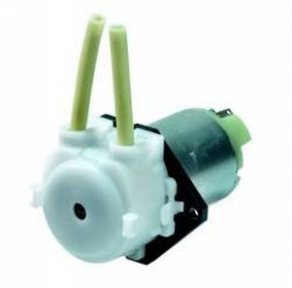 Peristaltic pump / compact / chemical / medical - 0.26 - 80 ml/min | SR 10, 30 series