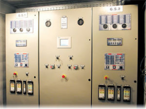 Control panel for generator sets
