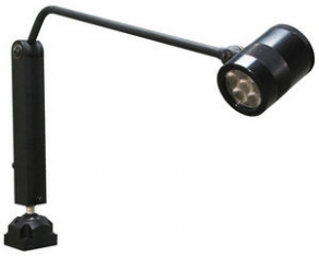 Swing arm lighting fixture / LED / for workstations - HE-BC/HE-BF/HE-BL