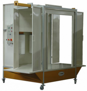 Manual powder coating booth - KPZ-2P